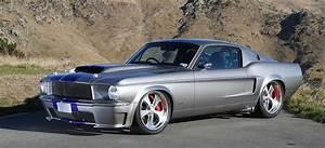 Burkes Metalwork-built 1968 Ford Mustang fastback