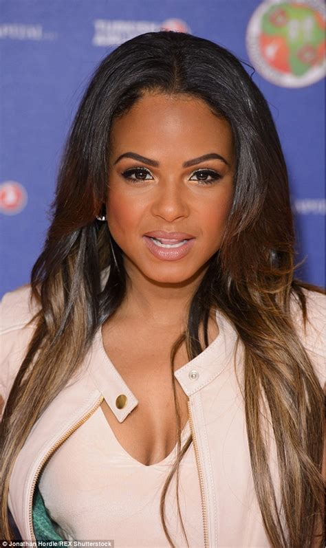Christina Milian Joins Premier League Wags At Charity