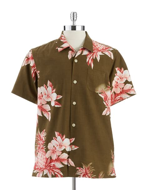 tommy bahama pineapple l tommy bahama pina colada pineapple buttondown shirt in