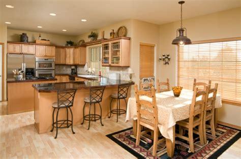 cuisine ouverte sur salle a manger beautiful salle de cuisine traditionnelle pictures