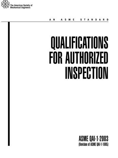 ASME QAI-1 PDF