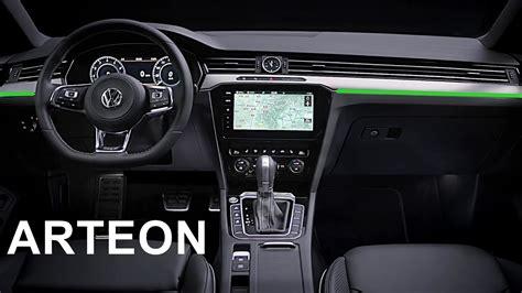 volkswagen inside 2017 volkswagen arteon interior youtube