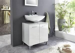 Waschbeckenunterschrank Weiß Hochglanz 60 : hochglanz softclose bad unterschrank real ~ Bigdaddyawards.com Haus und Dekorationen