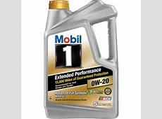 Mobil 1 Extended Performance 0W20 Full Synthetic Motor
