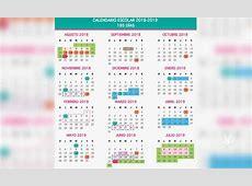 Así será el calendario escolar 20182019 – Veraz Informa