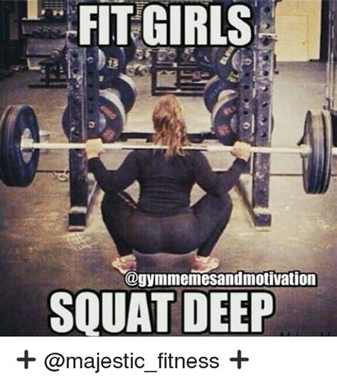 Squat Meme - fit girls squat deep girls meme on me me