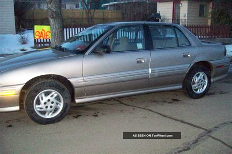 1998 Pontiac Grand Am Se Sedan 4 Door Tires Good Cond For