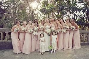 demoiselles d39honneur rose poudre mariage coust pinterest With robe pour mariage rose poudré