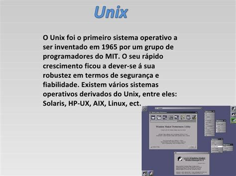 sistemas operativos hp ux sistemas operativos hp ux sistema operativo
