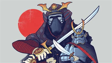 awesome star wars bushido art  luludubyou geektyrant