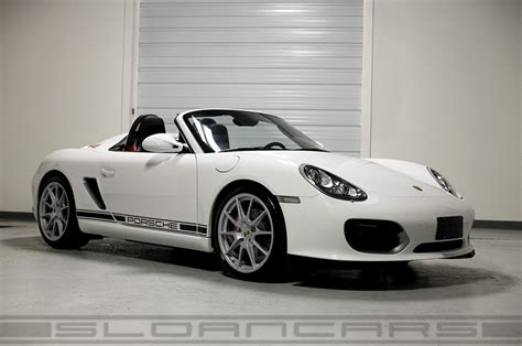 2011 Porsche Boxster Spyder Carrera White 3,476 Miles