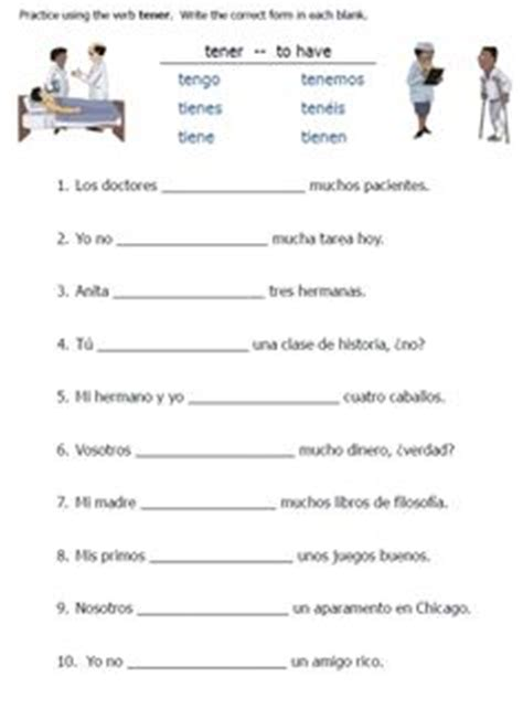1000+ Images About Tener Expressions On Pinterest