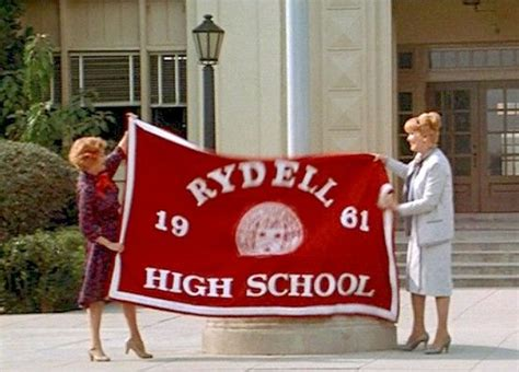 Grease Rydell High School