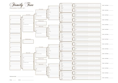 editable family tree template word template business