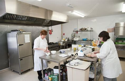 Care Home Kitchen  Stock Image C0255198  Science Photo