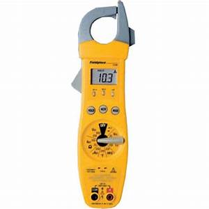 Fieldpiece Sc66 Manual Ranging Clamp Meter With