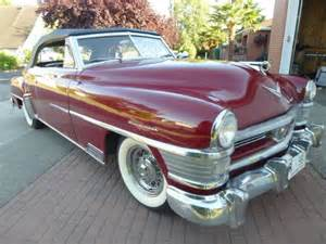 1952 Chrysler New Yorker by 1952 Chrysler New Yorker Convertible For Sale Photos