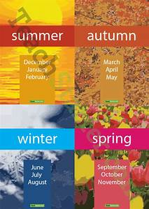 Months and the Seasons