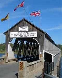 Canada New Brunswick Longest Covered Bridge in the World