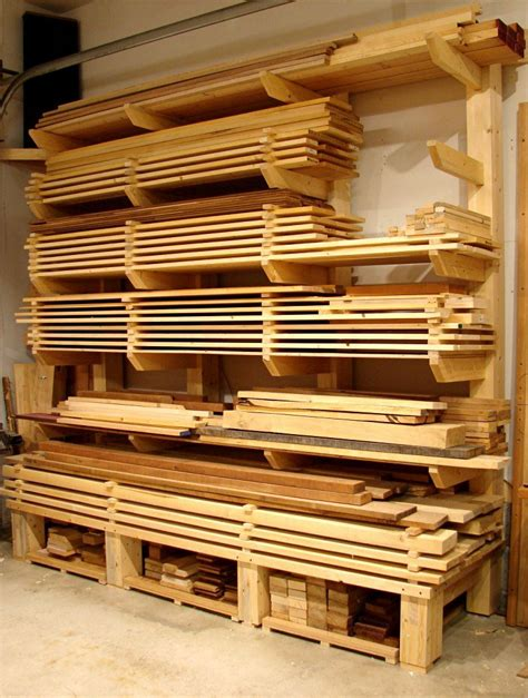 lumber rack ideas awesome timber storage solutions table saw central