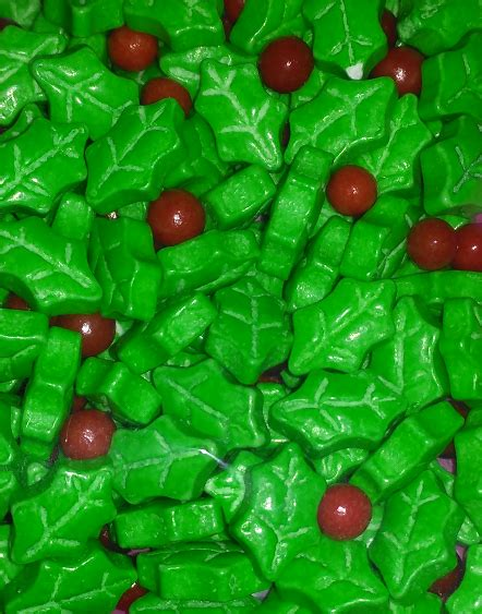 wilton holly mix sprinkles chefs complements
