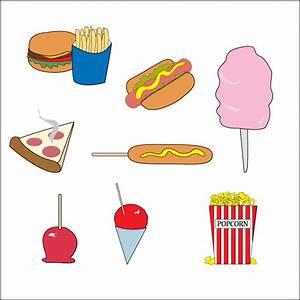 Carnival Food Vector Clip Art | Other Files | Clip Art