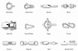 Jewelry 101  Types Of Clasps