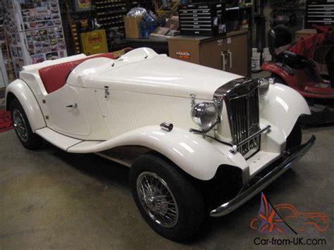 1952 mg td tribute kit car new build vw dual power classic vintage converable