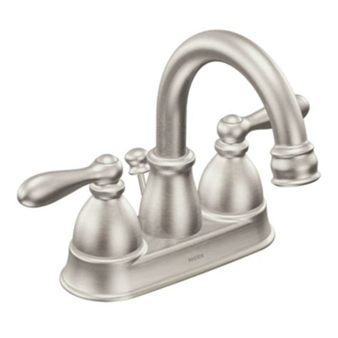 moen caldwell spot resist brushed nickel  handle