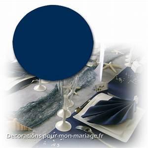 Nappe Bleu Marine : nappe ronde 240 cm bleu marine intiss qualit pour mariage et f tes ~ Teatrodelosmanantiales.com Idées de Décoration