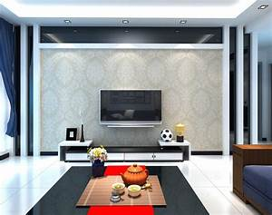 Neoclassical living room TV wall ideas | Download 3D House
