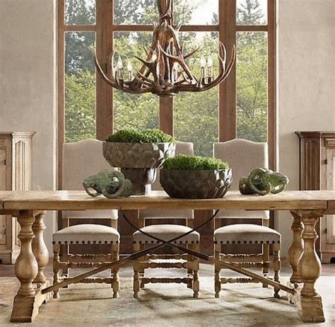 rustic lighting  dining room decorating ideas home