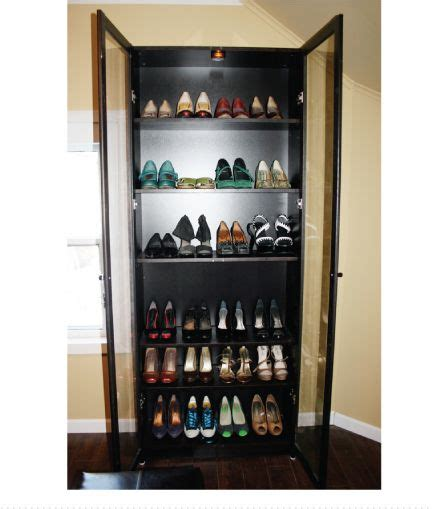Shoe Storage Bookcase by Billy Bookcase Turned Into Shoe Storage Find An