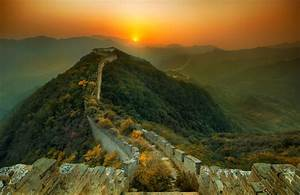 picture of the day nature overtakes the great wall With deserted great wall of china