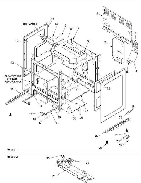 kitchen cabinets parts names amana acf3325aw gas range timer stove clocks and 6308