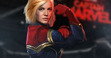 Captain Marvel Costume Description  Cosmic Book News