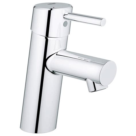 grohe concetto single single handle low arc bathroom faucet in starlight chrome 3427100a
