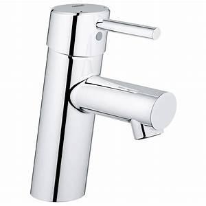 Grohe Concetto Küchenarmatur : grohe concetto single hole single handle low arc bathroom ~ Watch28wear.com Haus und Dekorationen