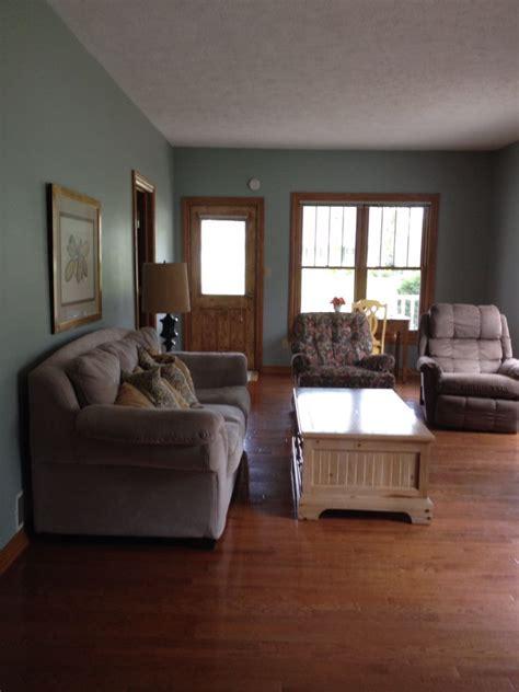 sherwin williams silvermist with oak trim home decor