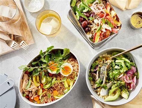 packable lunch bowls  prevent   oclock slump goop