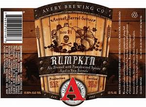 avery rumpkin rum barrel aged imperial pumpkin ale returns With avery beer bottle labels