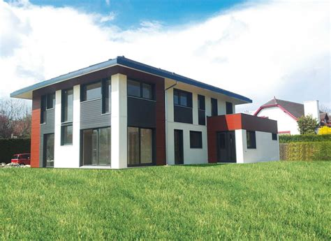 maisons ossature bois cl 233 en gardavaud habitations