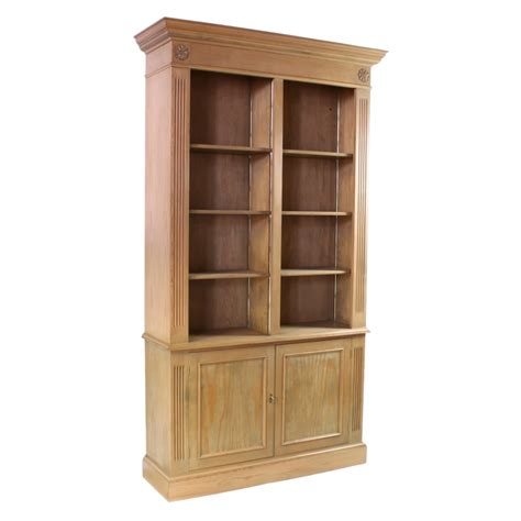 Pine Bookcase by Library Cabinets Bookcases Library Built In Cabinets