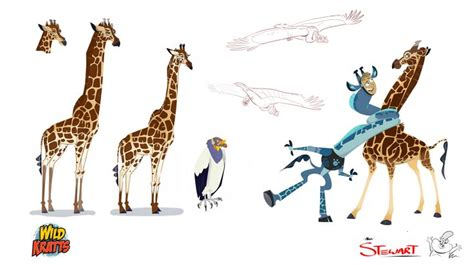 wild kratts alans character design character design