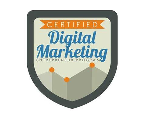 certified digital marketer program digital marketing entrepreneur program digital