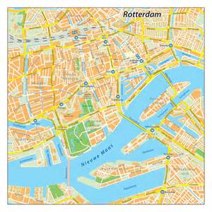 Rotterdam Amsterdam Map