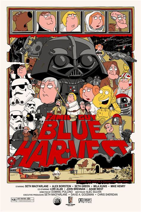 Cool Stuff: Family Guy Star Wars Posters In the Style of ...