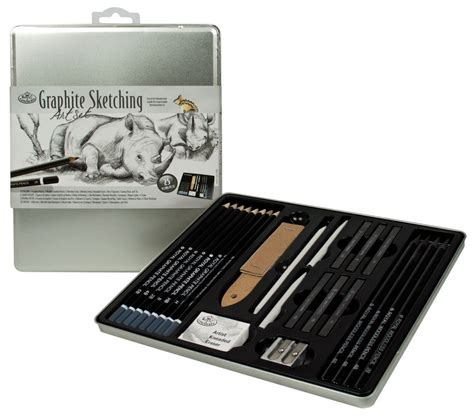piece sketch  drawing pencil set sketching art kit