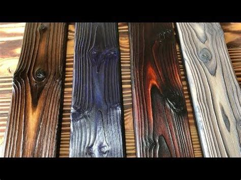 diy wood burning technique   shou sugi ban