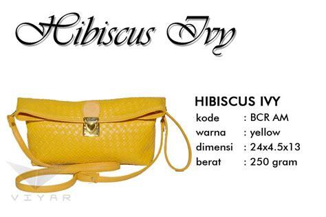 tas kulit asli bogor dompet clutch hibiscus am modis buatan tangan asli bogor